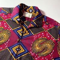 1960's Truval Skipper Batik S/S Shirt
