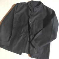 1950〜60's BEAU-FORT Black Moleskin Jacket Deadstock