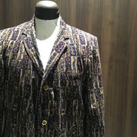 1960's Morin shops Batik Printed Tailored Jacket