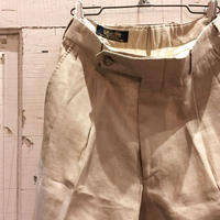 1980〜90's Brooks Brothers Linen Trousers Deadstock