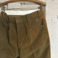 1960's Goachman Ltd. Velours Tapered Pants