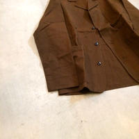 1950's Unknown French Cotton×Linen Jacket Deadstock