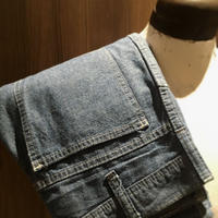 1980's Unknown Chambray Tapered Pants
