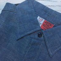 1960's ISB Chambray L/S Shirt Deadstock