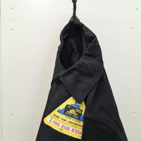 1950's LE MONT ST MICHEL Black Moleskin Jacket Deadstock