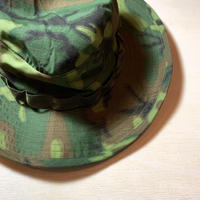 1960's US.ARMY ERDL Green Leaf Hat Deadstock