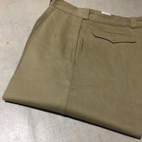1960's French Army Chino Trousers Deadstock