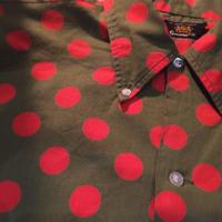 1960's gunnin Dots Pattern S/S Shirt