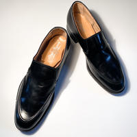 1960's Crosby Square Leather Shoes Deadstock