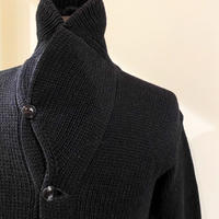 1930's〜 Unknown Shawl Collar Cardigan Black