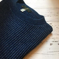1980〜90's ORVIS Indigo Cotton Sweater