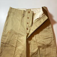 1950's US.ARMY Chino Trousers Deadstock