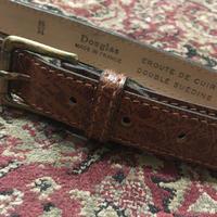 1960's Douglas Leather Belt Deadstock