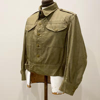 1950's British Army Green Denim Jacket Deadstock