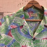 1950's DEER CREEK Seersucker S/S Shirt