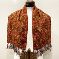 1950's〜 Unknown Rayon Scarf