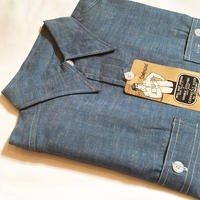 1950's Unknown Chambray L/S Shirt Deadstock