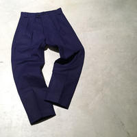 1950's French Unknown Cotton&Linen Trousers Deadstock