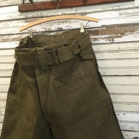 1940〜50's French Army Linen Motorcycle Pants Deadstock