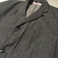 1950's British Beacon Gray Dungaree Coat Deadstock