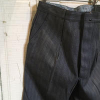 1950's LE MONT ST MICHEL Cotton Trousers Deadstock