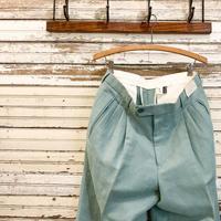 1980's Unknown Cotton&Linen Trousers Deadstock