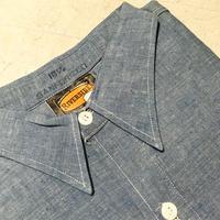 1950〜60's RIVERSIDE Chambray L/S Shirt Deadstock