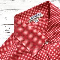 1960's I.MAGNIN&CO. Pin Dots L/S Shirt