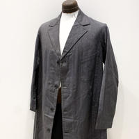 1940〜50's Unknown Black Chambray Atelier Coat Deadstock