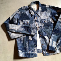1970's The King-Size Co. Patchwork Printed Jacket