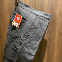 1950's LE MONT BLANC Black Chambray Trousers Deadstock