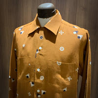 1950's Leed's Rayon L/S Shirt Deadstock