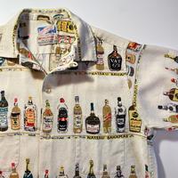 1960's THE MEN'S SHOP Linen S/S Shirt