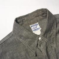 1940's SUPER OX HIDE Gray Chambray L/S Shirt