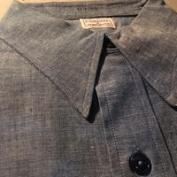 1950〜60's COMPASS Chambray L/S Shirt Deadstock