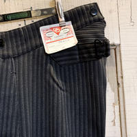 1930's〜 Le Favori Cotton Trousers Deadstock