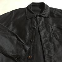 1950's LE MONT ST MITCHEL Black Moleskin Jacket
