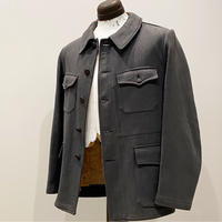 1950's French Unknown Pique Hunting Jacket