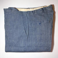 1940's〜 Unknown Pincheck Trousers Deadstock