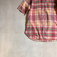 1960's A&S Indian Madras S/S Shirt