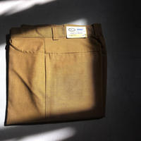 1960's MANN Tapered Slacks Deadstock