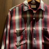 1960's BRENT Rayon L/S Shirt