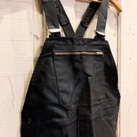 1950's〜 LE POPULAIRE Black Moleskin Overall Deadstock