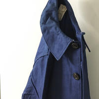 1930〜40's French Indigo Cotton Twill Jacket Deadstock