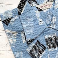 1950's PENNEY'S Seersucker S/S Shirt Deadstock