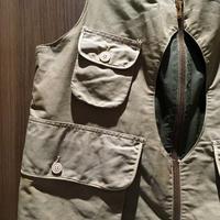 1940's MASLAND Fishing Vest