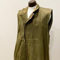 1940's British Military Green Denim Vest