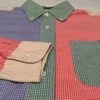 1980〜90's STADIUN Crazy Pattern L/S Shirt
