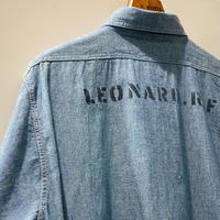 1940's〜 US.NAVY Chambray L/S Shirt