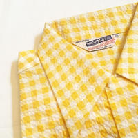 1950's WASH'N WEAR Seersucker S/S Shirt Deadstock
